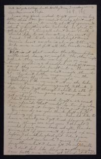 Letter from Edna L. Ferry to Charles A. Ferry and Rosella E. Ferry, 1901 October 8
