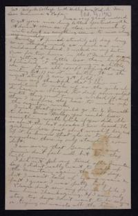 Letter from Edna L. Ferry to Charles A. Ferry and Rosella E. Ferry, 1901 October 16