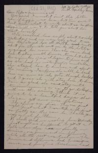 Letter from Edna L. Ferry to Charles A. Ferry and Rosella E. Ferry, 1901 October 21