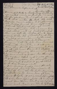 Letter from Edna L. Ferry to Charles A. Ferry and Rosella E. Ferry, 1901 November 20