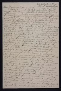Letter from Edna L. Ferry to Charles A. Ferry and Rosella E. Ferry, 1901 December 8
