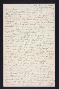 Letter from Edna L. Ferry to Charles A. Ferry and Rosella E. Ferry, 1902 February 16