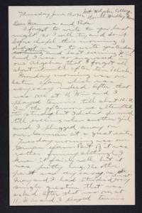 Letter from Edna L. Ferry to Charles A. Ferry and Rosella E. Ferry, 1902 June 12