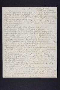 Letter from Edna L. Ferry to Charles A. Ferry, 1903 February 25