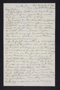 Letter from Edna L. Ferry to Charles A. Ferry, 1903 May 21