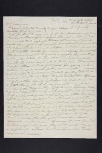 Letter from Edna L. Ferry to Rosella E. Ferry, 1903 June 21