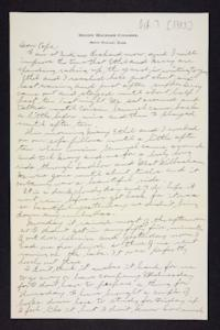 Letter from Edna L. Ferry to Charles A. Ferry, 1903 October 7