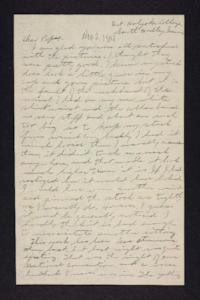 Letter from Edna L. Ferry to Charles A. Ferry, 1904 November 2