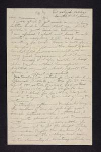 Letter from Edna L. Ferry to Rosella E. Ferry, 1904 November 9
