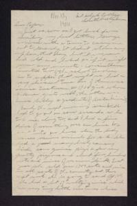 Letter from Edna L. Ferry to Charles A. Ferry, 1904 November 13