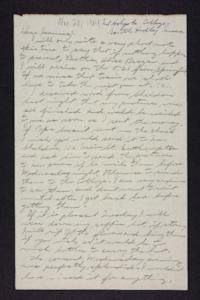 Letter from Edna L. Ferry to Rosella E. Ferry, 1904 November 20