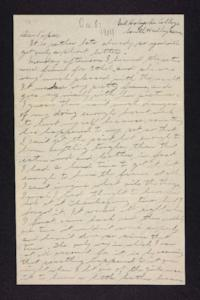 Letter from Edna L. Ferry to Charles A. Ferry, 1904 December 8