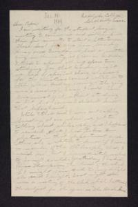 Letter from Edna L. Ferry to Charles A. Ferry, 1904 December 14