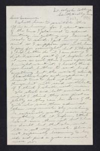 Letter from Edna L. Ferry to Rosella E. Ferry, 1905 June 1
