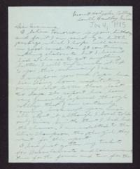 Letter from Edna L. Ferry to Rosella E. Ferry, 1905 June 4
