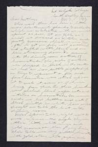 Letter from Edna L. Ferry to Rosella E. Ferry, 1905 November 2