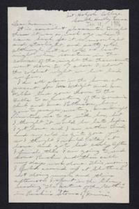 Letter from Edna L. Ferry to Rosella E. Ferry, 1906 January 10