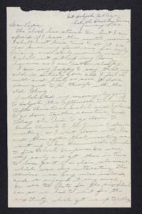 Letter from Edna L. Ferry to Charles A. Ferry, 1906 January 14