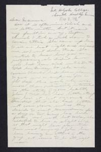 Letter from Edna L. Ferry to Rosella E. Ferry, 1906 March 11