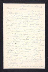 Letter from Rosella E. Ferry to Edna L. Ferry, 1902 November 19