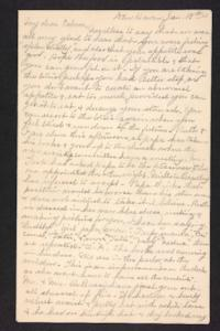 Letter from Charles A. Ferry and Rosella E. Ferry to Edna L. Ferry, 1903 January 18