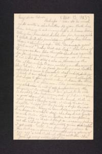Letter from Charles A. Ferry and Rosella E. Ferry to Edna L. Ferry, 1903 March 12
