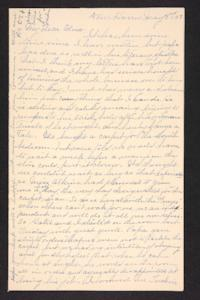 Letter from Rosella E. Ferry to Edna L. Ferry, 1903 May 3