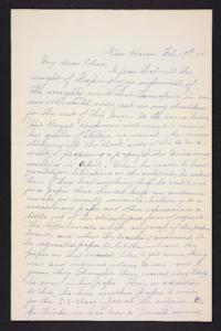 Letter from Rosella E. Ferry to Edna L. Ferry, 1905 February 19