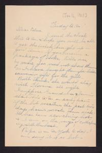 Letter from Rosella E. Ferry to Edna L. Ferry, 1905 June 16