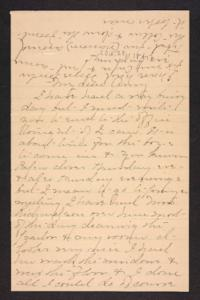 Letter from Mary A. Roberts to Amy Roberts Jones, 1897 October 24
