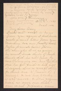 Letter from Mary A. Roberts to Amy Roberts Jones, 1897 November 3