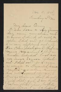 Letter from Mary A. Roberts to Amy Roberts Jones, 1897 December 5