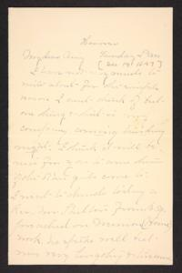 Letter from Mary A. Roberts to Amy Roberts Jones, 1897 December 19