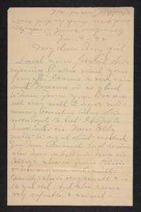 Letter from Mary A. Roberts to Amy Roberts Jones, 1898 January 3