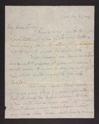 Letter from Blanche Louisa Mae to Amy Roberts Jones, 1898 February 7