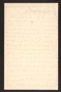 Letter from Mary A. Roberts to Amy Roberts Jones, 1898 March 13