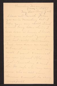 Letter from Mary A. Roberts to Amy Roberts Jones, 1898 May 1