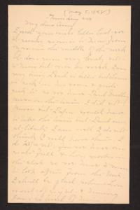 Letter from Mary A. Roberts to Amy Roberts Jones, 1898 May 5