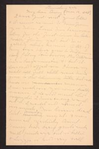 Letter from Mary A. Roberts to Amy Roberts Jones, 1898 May 12