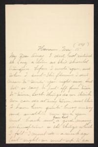 Mary A. Roberts to Amy Roberts Jones, 1898 May 15
