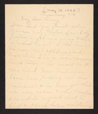 Letter from Mary A. Roberts to Amy Roberts Jones, 1898 May 19