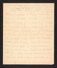 Letter from Mary A. Roberts to Amy Roberts Jones, 1898 May 22