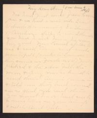 Letter from Mary A. Roberts to Amy Roberts Jones, 1898 June 6