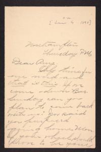 Letter from unidentified correspondent to Amy Roberts Jones, 1898 June 9