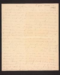 Letter from Mary A. Roberts to Amy Roberts Jones, 1898 June 10