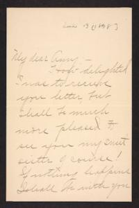Letter from Blanche Louisa Mae to Amy Roberts Jones, 1898 June 13