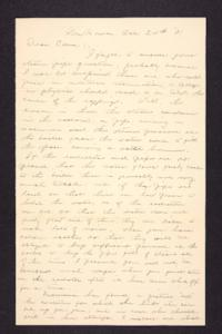 Letter from Charles A. Ferry to Edna L. Ferry, 1901 October 24
