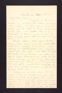 Letter from Charles A. Ferry to Edna L. Ferry, 1901 December 8