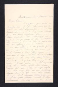Letter from Charles A. Ferry to Edna L. Ferry, 1902 March 12