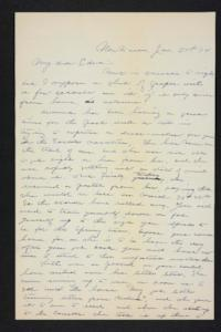 Letter from Charles A. Ferry to Edna L. Ferry, 1904 January 27